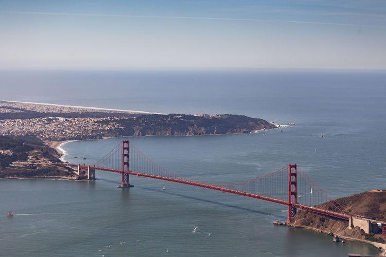 Aerial views of