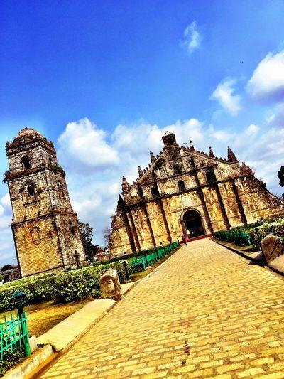 Paoay Church Church Travel Philippines More Fun In The Philippines  Eyeem Philippines Roadtrip Ilocos Sur Laoag City
