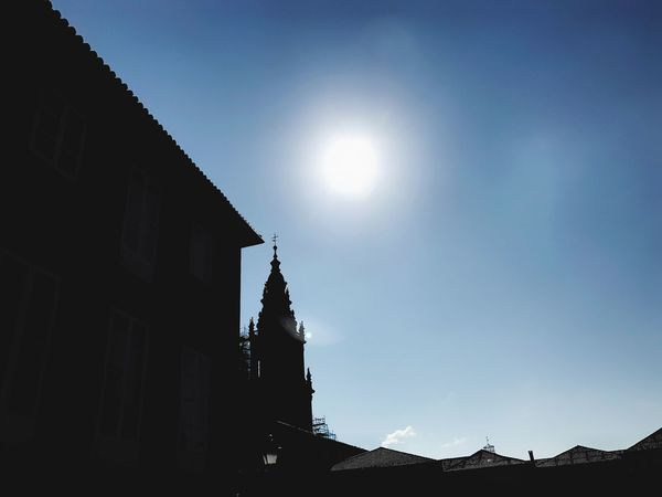 Streetphotography Outdoors Building Exterior Architecture Built Structure Sunlight Low Angle View Day Clear Sky Sky No People Silhouette