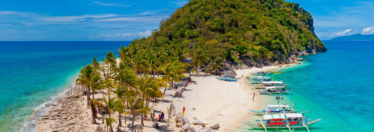 Iloilo Philippines Silhouette Travel Beach Gigantesisland Ocean Philippine Beaches White Background First Eyeem Photo