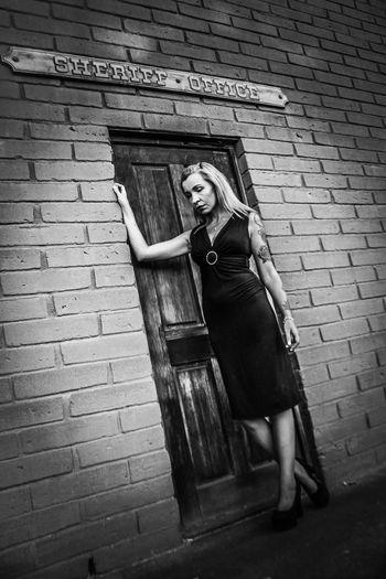 Escondido Tiina Female Model Model Beautiful Female Old Black Showcase July 2016 Showcase July Monochrome Photography