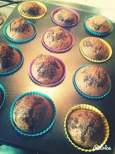 Baking Muffins Chocolate