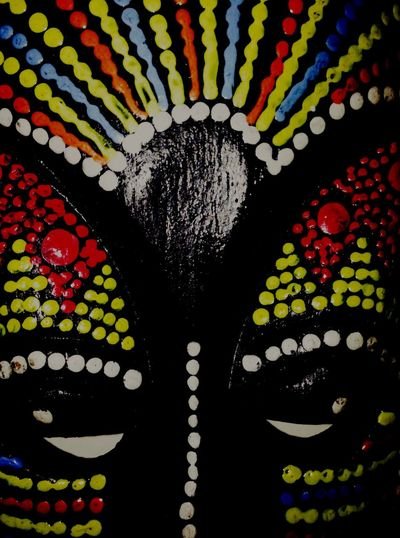 Light And Shadow Reflection Multi Colored No People Close-up Abstract Mask Pure Colors Day Bahamas Mask