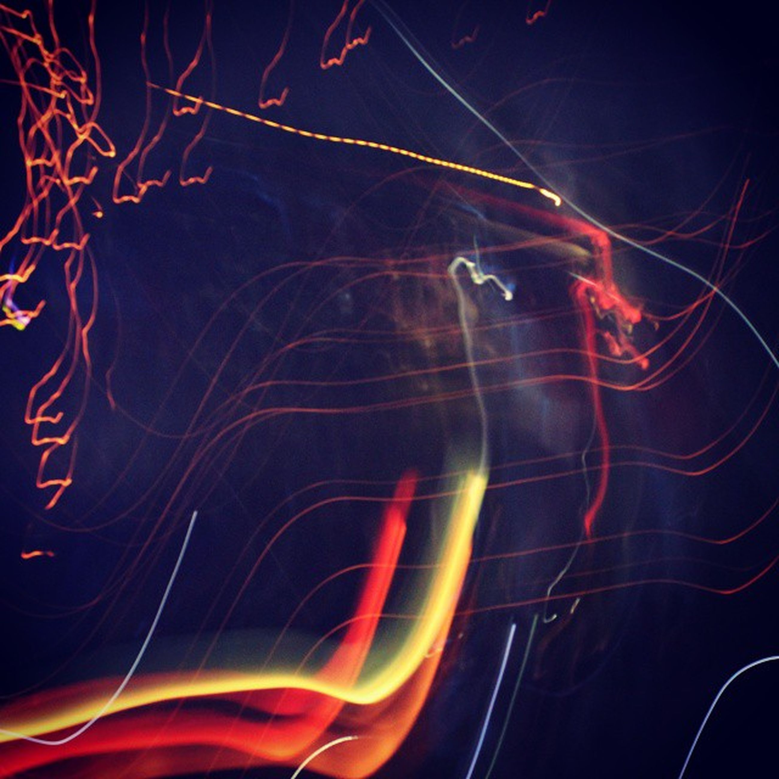 night, abstract, long exposure, backgrounds, illuminated, glowing, full frame, light trail, motion, red, light painting, pattern, multi colored, close-up, orange color, light effect, black background, no people, creativity, ideas