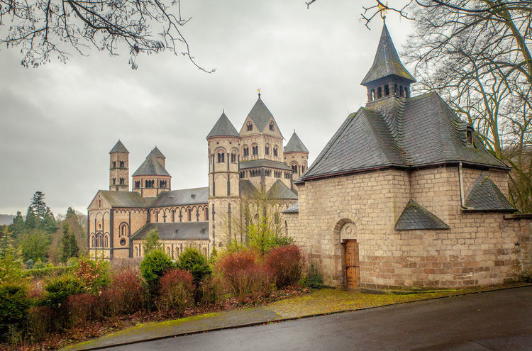 Abbey Architecture Church Maria Laach Maria Laach Abbey Architecture Autumn Building Exterior Built Structure Day Eifel Explore Germany Nature No People Old Outdoors Place Of Worship Place To Visit Religion Sky Spirituality Tourism Destination Travel Destinations Tree