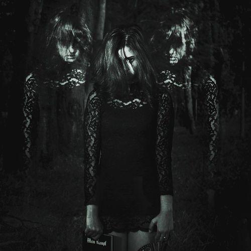 Dark Darkness Lost Soul Lostsoul Threesouls Bw Photomanipulation Photoshop Photo Faithnomore