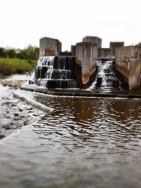 Water water everywhere and not a drop to drink.... Flint, Michigan.... My home town... Water Flowing Water Motion Splashing Wet Drop Sky Dam Waterfall City Summertime Michigan This Is The Way I Pray No People