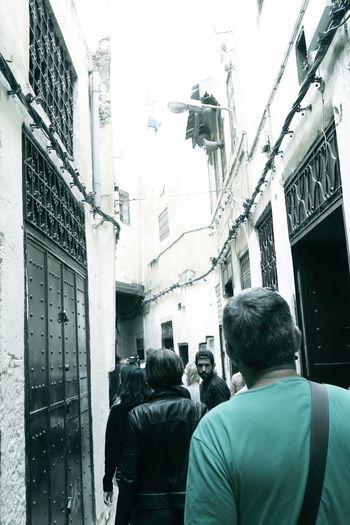 The Biggest Pedestrian Street Medina De Fez Morocco