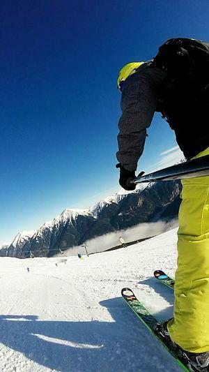 Skiing in Bad Gastein, Austria 2015 Skiing Austria Gopro GoPro Hero3+ Beahero Active Lifestyle  Mountains Alps Alps Austria Blue Blue Sky Bluebird Sun Winter Winter Wonderland Adventure Club Colour Of Life