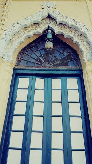 Architectural beauty Indianarchitecture Incredible India Architecture Historical Building History UttarPradesh Indian Style Windowframe Colors Old Doors