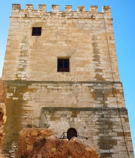Castle tower old