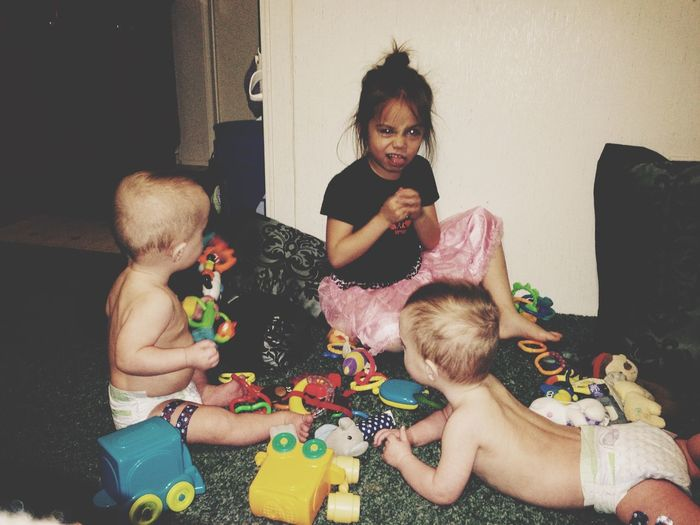 Mommies Babies.<3 I Love You ! Precious Moments My World Playing Enjoying Life Taking Photos Love Being A Mommy I Love My Kids <3