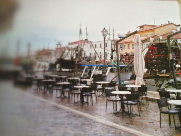 Cesenatico porto......sotto la pioggia!!!