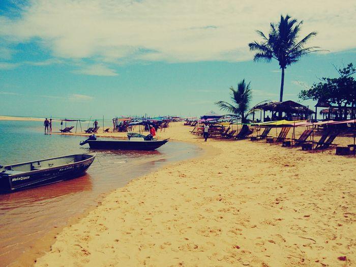 Caraíva, Bahia, BR Hello World