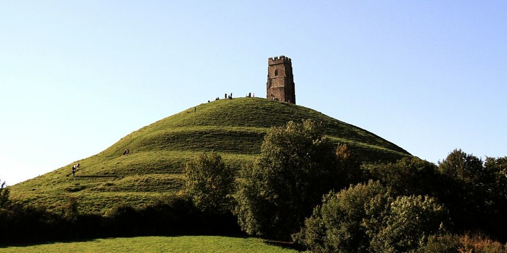 Glastonbury Tor. UK. Famous Place Travel Destinations Historical Building Architecture Travel Leisure Activity Glastonbury Tor Nature Photography Nature Building Exterior Live For The Story Lost In The Landscape An Eye For Travel