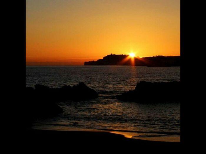 Sea Sunrise Mar Mediterrani L'Escala Albada Trenc D'alba