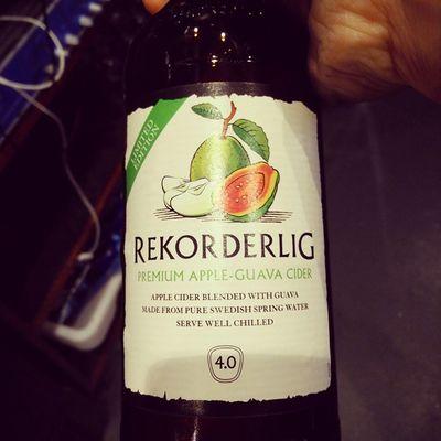 Always have a soft spot for limited edition of Rekorderlig Cider Guava