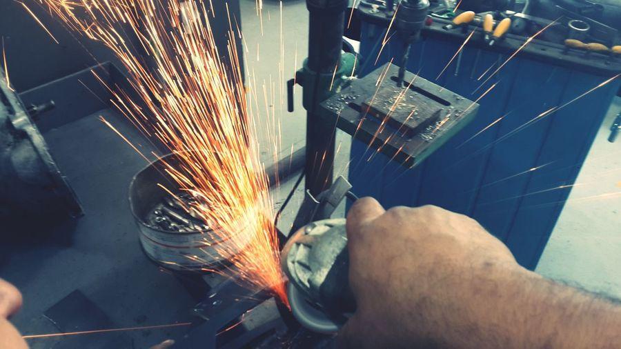 sparks flying Sparks Gargae Work