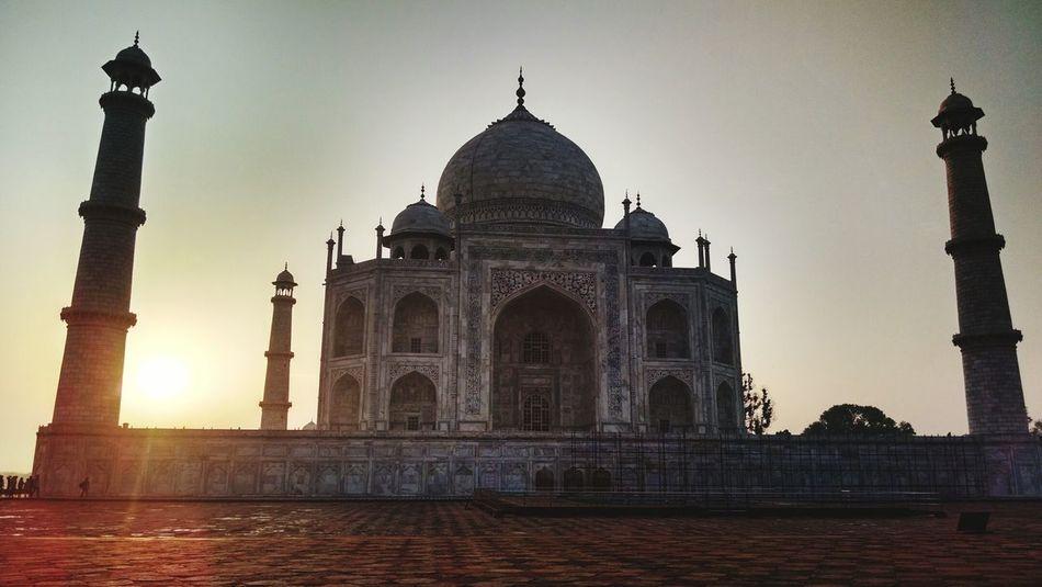 UNESCO World Heritage Site Tajmahal Eye Em A Traveller EyeEm Best Shots - Sunsets + Sunrise Symboloflove Eyeemphoto