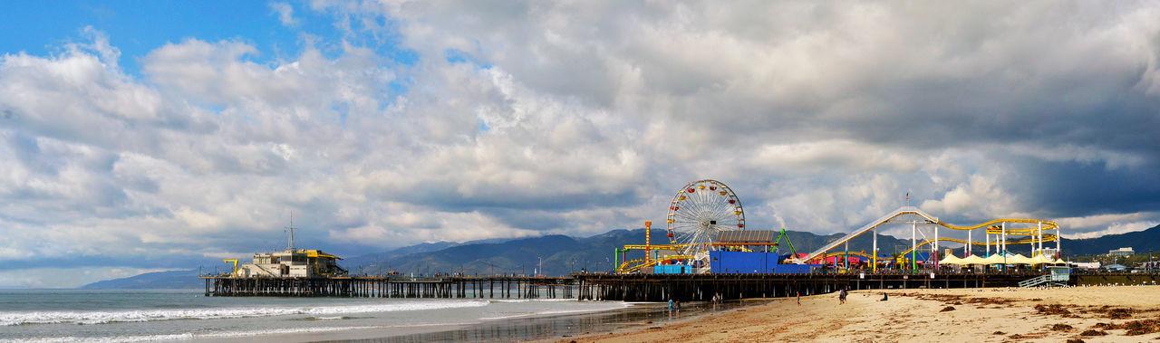 Amusement Park By Sea