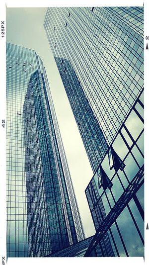 Skyscrapers Deutsche Bank