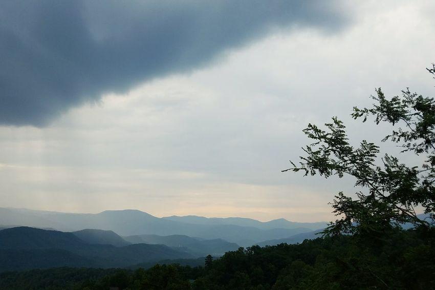 Smoky Mountains Smoky Mountains National Park Nationalpark Forest Mountain Range Cool Tones Cloud - Sky Peace And Quiet Raining Rainy Season Rain Foggy