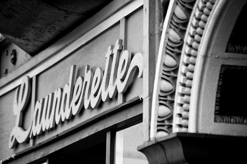 Antique Architecture Architecture_collection Built Structure Built Structures Detail Dirty Laundry  Exterior Historic Launderette Laundry Day Laundry Mat Laundy Time Moulding Old-fashioned Ornamentation Outdoors Retro Script Small Town Vintage