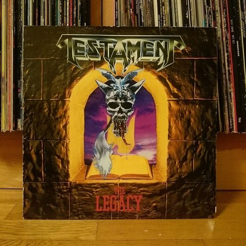 I need some metal tonight. Vinyl Metal Testament TheLegacy
