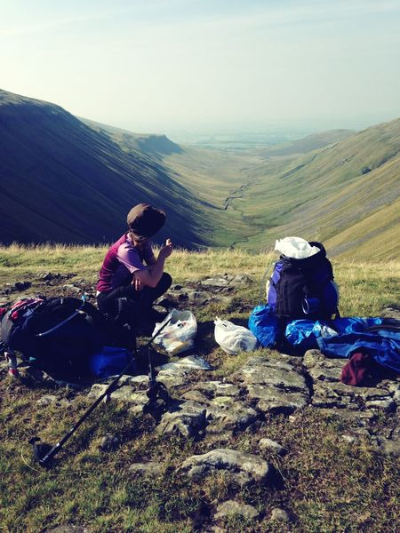 Holiday POV First Eyeem Photo Pennine Way Having lunch after a hard morning.