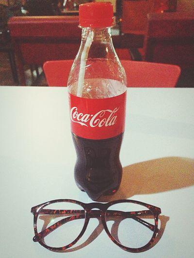 Coca Cola Cocacola Table Indoors  Drink Refreshment Freshness EyeEmNewHere The Architect - 2017 EyeEm Awards