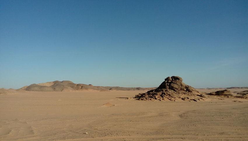 No Edit/no Filter Egypt Desert Enjoying Life Sun Sunny Day Sunny Desert Hot Day Outside Marsa Alam Travel Nature Clear Sky