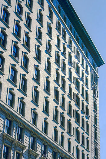 Building Exterior Window Architecture Built Structure Low Angle View Outdoors Apartment City Day No People New York City Embrace Urban Life Architecture Apartment Buildings Streetphotography Urban Manhattan Upper West