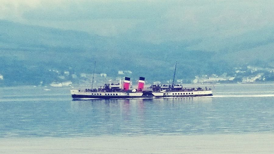 Waterfront Sailing Outdoors Journey Nautical Vessel Waverley Paddle Steamer