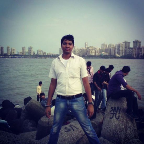 Mumbai Holiday Travel Party Friends Masti Narimanpoint Beach Goodoldtimes Funtimes Asian  Amezing Road Wite