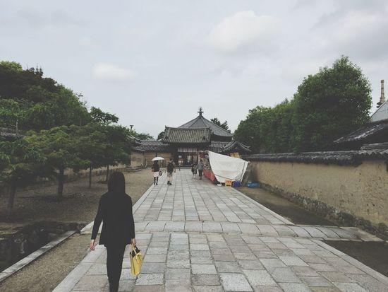 Nara Japan 法隆寺 寺 奈良 Japanese Temple