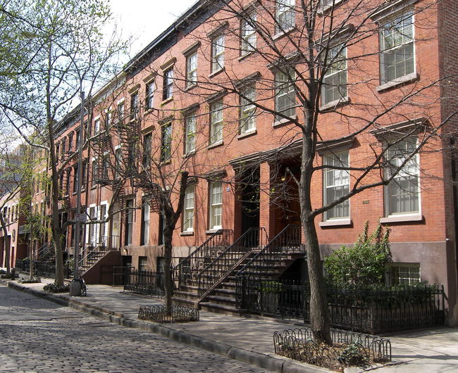 Cobblestone Street Cobblestone Streets New York New York City Residences Townhome