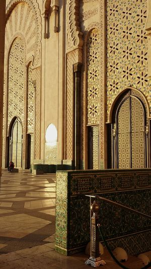 Hassan II Mosquee Mosquee Hassan II Marrakech Morocco Arabic Culture Arabic Architecture Gold