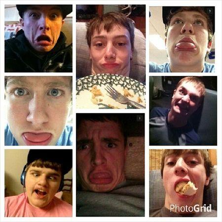 Man crush monday. (: Brayden Brady Johnboy Kameron loveyouall lovesnapchat @bhansen_3 @flugel_32 @strobel_26 @johnnyboy_73