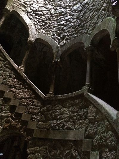 Architecture History Built Structure Steps Steps And Staircases Staircase Rocks Wall Quinta Da Regaleira Portugal Portugal History Portugal Architecture No People Stones Treppen Treppe Castle Castle Ruin Travel Destinations Wet EyeEmNewHere An Eye For Travel The Graphic City The Architect - 2018 EyeEm Awards