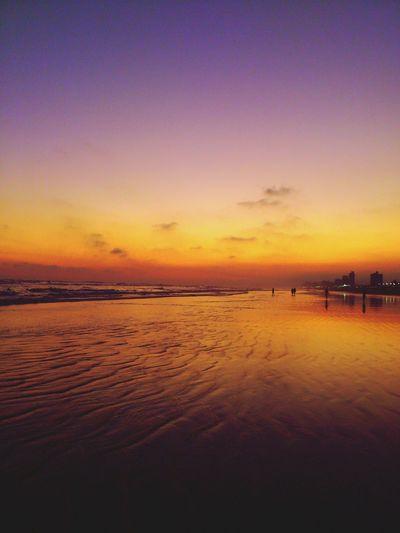 Sunset #sun #clouds #skylovers #sky #nature #beautifulinnature #naturalbeauty #photography #landscape Beachphotography EyeEm Best Shots - Sunsets + Sunrise Landscape_Collection