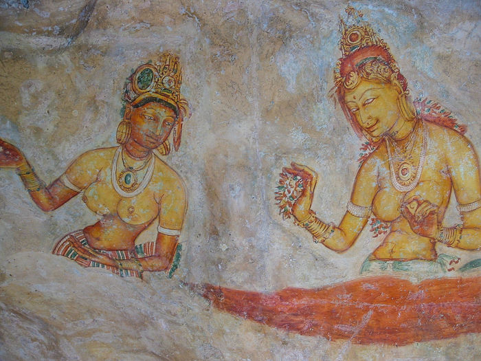 From the archive: Sigiriya Frescoes Ancient Civilization Art And Craft Craft Fresco Fresco Decorations Fresco Paintings Fresco Wall Frescoes Human Representation Religion Spirituality