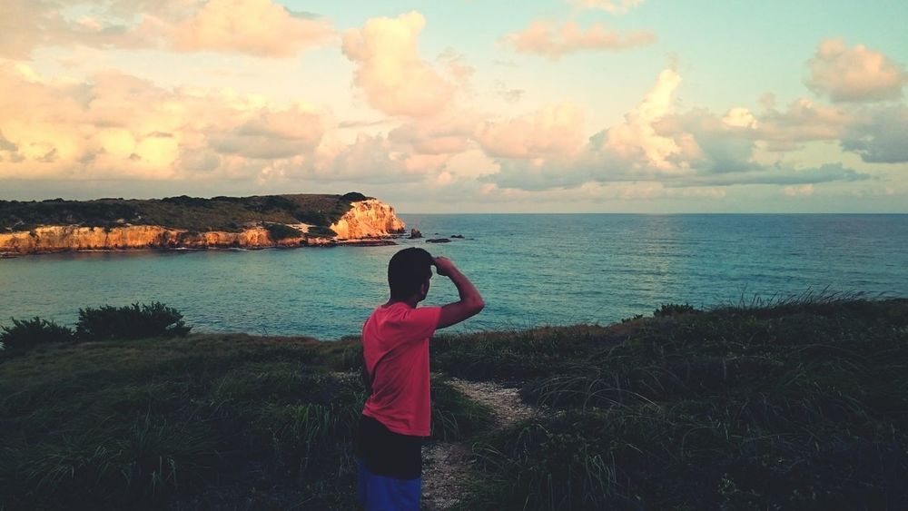 """Exploring """"Dirty Beach"""" in Puerto Rico The Places I've Been Today Relaxing Irony Beautiful Sunset Playa Sucia Puerto Rico Beach Check This Out That's Me"""