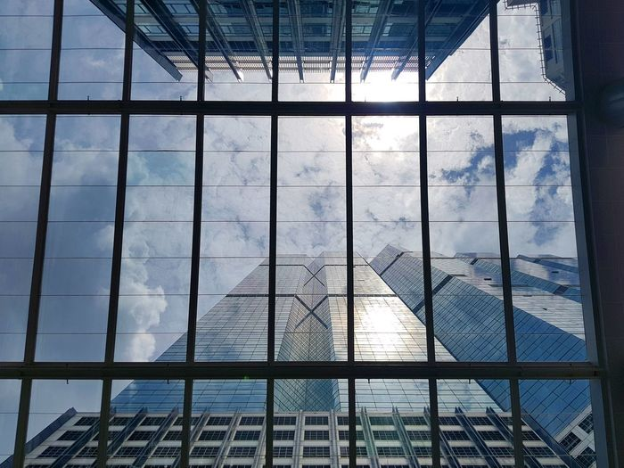 Roof Cloud Cloud - Sky Sun Tall Buildings Window Sky Architecture Built Structure