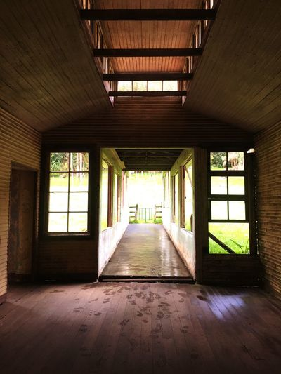 Abandoned psychiatric hospital Architecture Indoors  Built Structure Direction Day The Way Forward No People Building