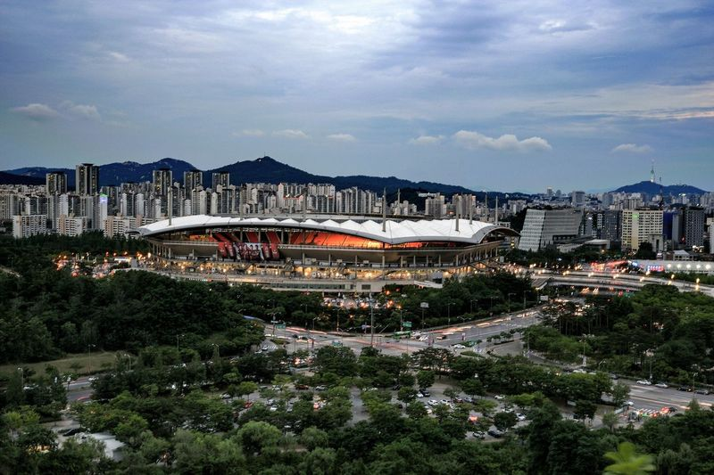 Stadium Stadium Atmosphere Architecture Landscape Landscape_Collection Landscape_photography Big Match Feel The Journey Original Experiences A Bird's Eye View