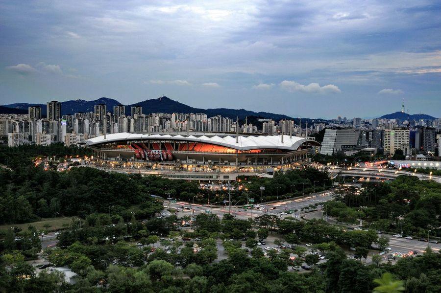 Stadium Stadium Atmosphere Architecture Landscape Landscape_Collection Landscape_photography Big Match Feel The Journey Original Experiences A Bird's Eye View