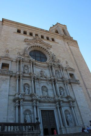 Girona Cathedral Girona Gironamenamora Girona,Spain
