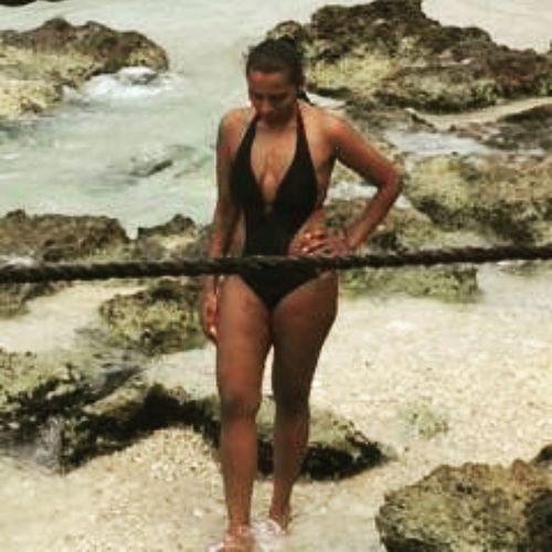 Enjoying Grand Cayman... I want to go back!!! Flashbackfriday FBF  Vacationmode Islandfever sun sand clearbluewater 90degrees monokini VictoriasSecret WesternCaribbean enjoyinglife exploringtheworld takemeback Reccos40thBirthdayCruise livewell laughoften lovemuch