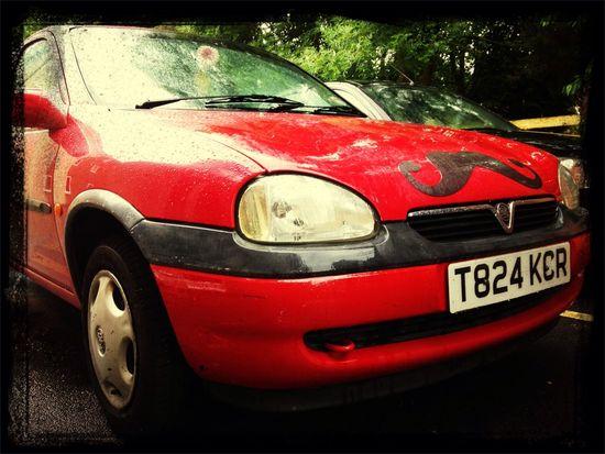 Tash Car Red