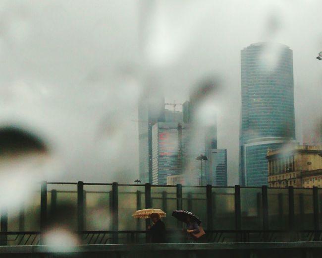 Moscow City Rain Urban Geometry Urban Landscape Urban 4 Filter Urbanphotography Eye4photography  EyeEm Best Shots EyeEm Best Edits